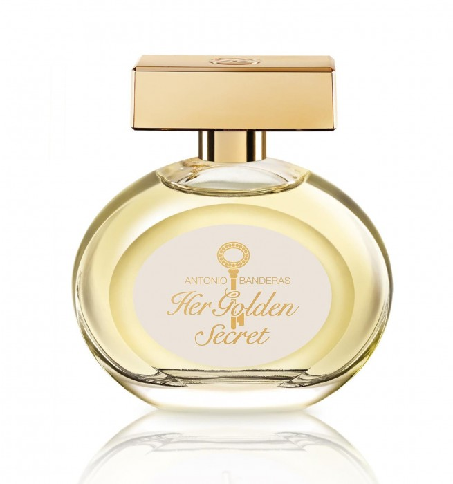 ANTONIO BANDERAS HER GOLDEN SECRET edt W 80ml TESTER