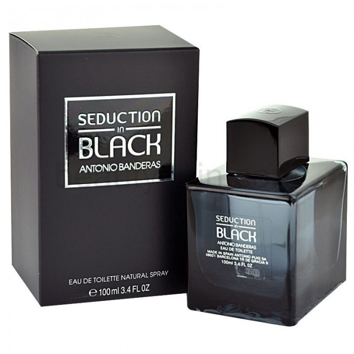 ANTONIO BANDERAS IN BLACK SEDUCTION edt MEN 100ml