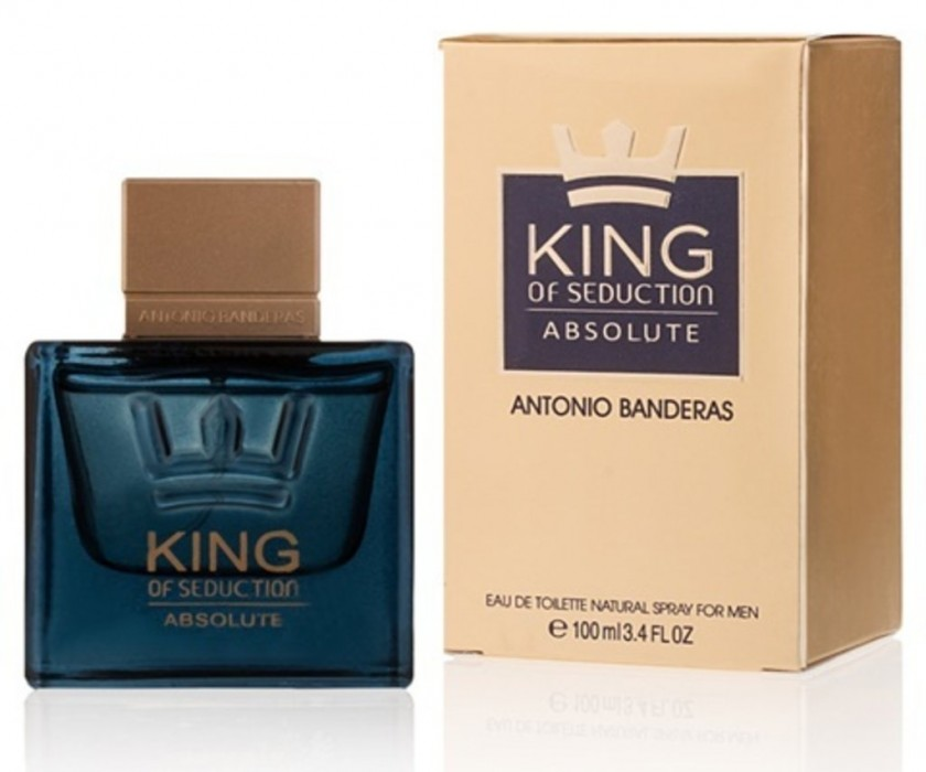 ANTONIO BANDERAS KING OF SEDUCTION ABSOLUTE edt MEN 100ml