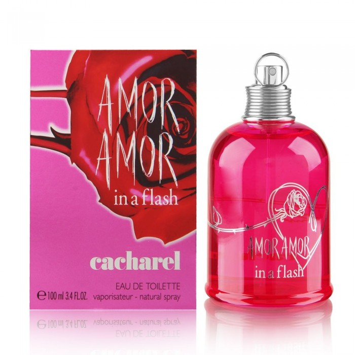 CACHAREL AMOR AMOR IN A FLASH edt W 100ml