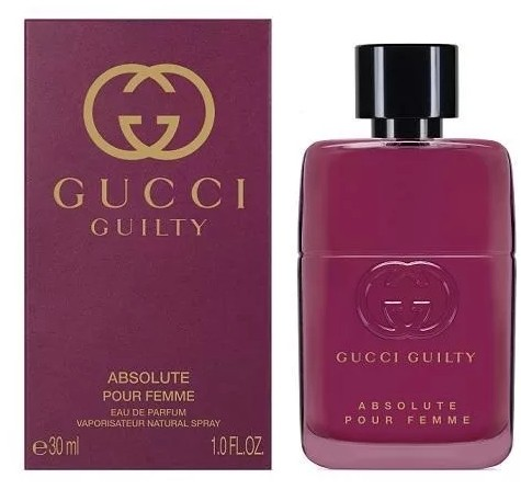GUCCI GUILTY ABSOLUTE edp W 30ml